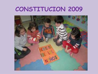 CONSTITUCION 2009