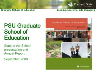 PSU Graduate School of Education
