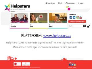 Plattform:  www.helpstars.at