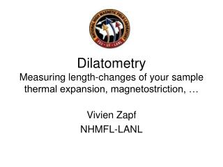 Dilatometry Measuring length-changes of your sample thermal expansion, magnetostriction, …