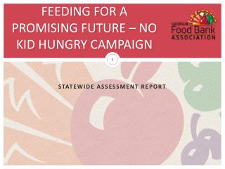 Feeding for a promising future – no kid hungry campaign