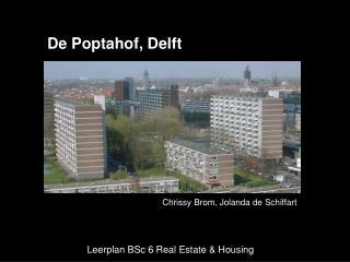 Leerplan BSc 6 Real Estate & Housing