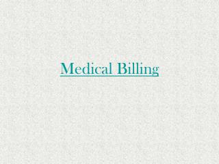 Importnace of medical billing services