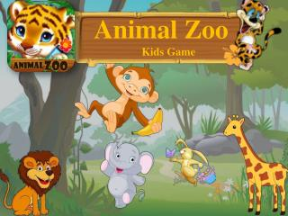 The Animal Zoo - Kids Game