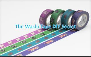 The Washi Tape DIY Secret