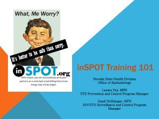 inSPOT  Training 101