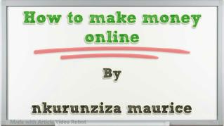 ppt 39069 How to make money online