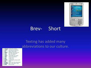 Brev -     Short