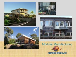 Modular Manufacturing AMARCO  MODULAR