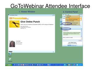 GoToWebinar Attendee Interface