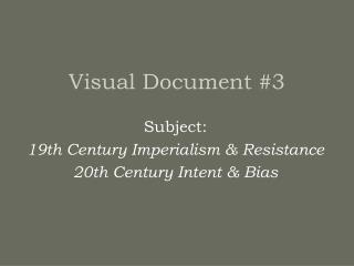 Visual Document #3