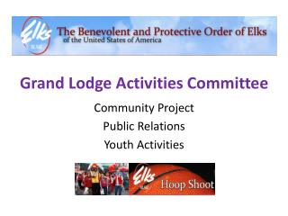 Grand Lodge Activities Committee