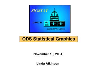 ODS for Statistical Graphics - November 10