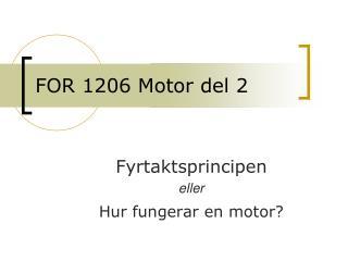 FOR 1206 Motor del 2