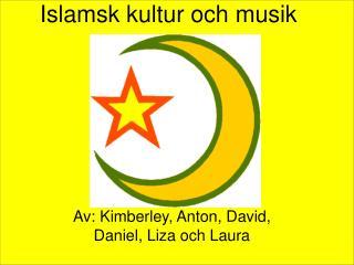 Islamsk kultur och musik