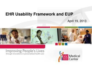 EHR Usability Framework and EUP