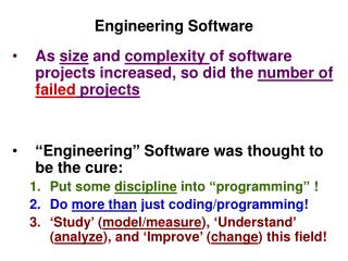 Engineering Software