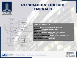 REPARACI�N EDIFICIO EMERALD