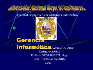 Gerencia Inform � tica