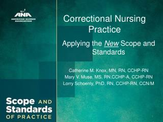 Correctional Nursing Practice
