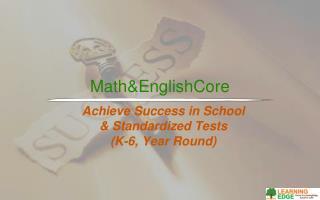 Math&EnglishCore