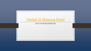 Orchid Al Mansour Hotel - Holdinn.com