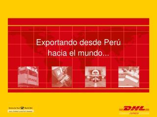 Exportando desde Per�