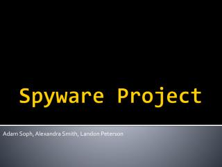 Spyware Project