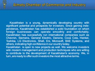 Almaty  Chamber of Commerce and Industry