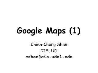 Google Maps (1)