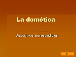 La domótica