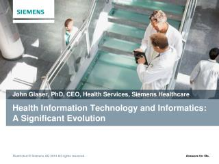 Health Information Technology and Informatics: A Significant Evolution