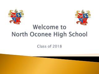 Welcome to  North Oconee High School