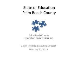 State of Education  Palm Beach County