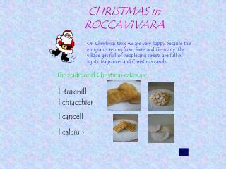 CHRISTMAS in ROCCAVIVARA