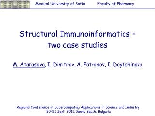Structural Immunoinformatics –  two case studies