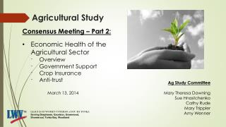 Agricultural Study