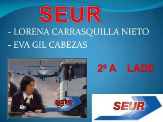 - LORENA CARRASQUILLA NIETO - EVA  GIL CABEZAS