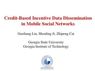 Credit-Based Incentive Data Dissemination in Mobile Social Networks