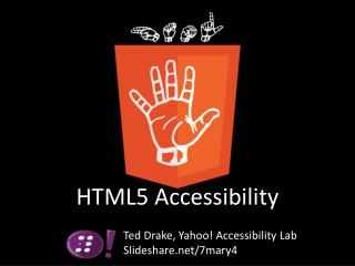 HTML5 Accessibility