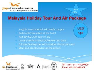 Malaysia Holiday Tour And Air Package-malaysia tour at joy