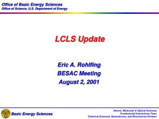 LCLS Update