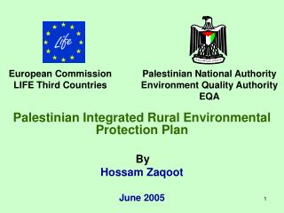 Palestinian Integrated Rural Environmental Protection Plan By Hossam Zaqoot  June 2005