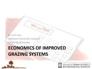 Economics of Improved Grazing Systems