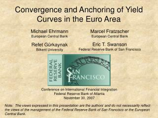 Convergence and Anchoring of Yield Curves in the Euro Area
