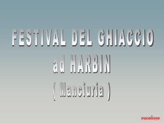 FESTIVAL DEL GHIACCIO