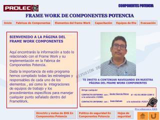 BIENVENIDO A LA PÁGINA DEL FRAME WORK COMPONENTES