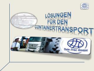 Lösungen  für den Containertransport