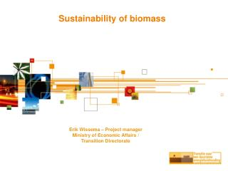 Sustainability of biomass