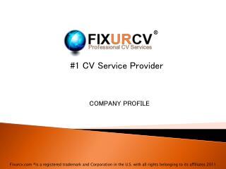 #1 CV Service Provider